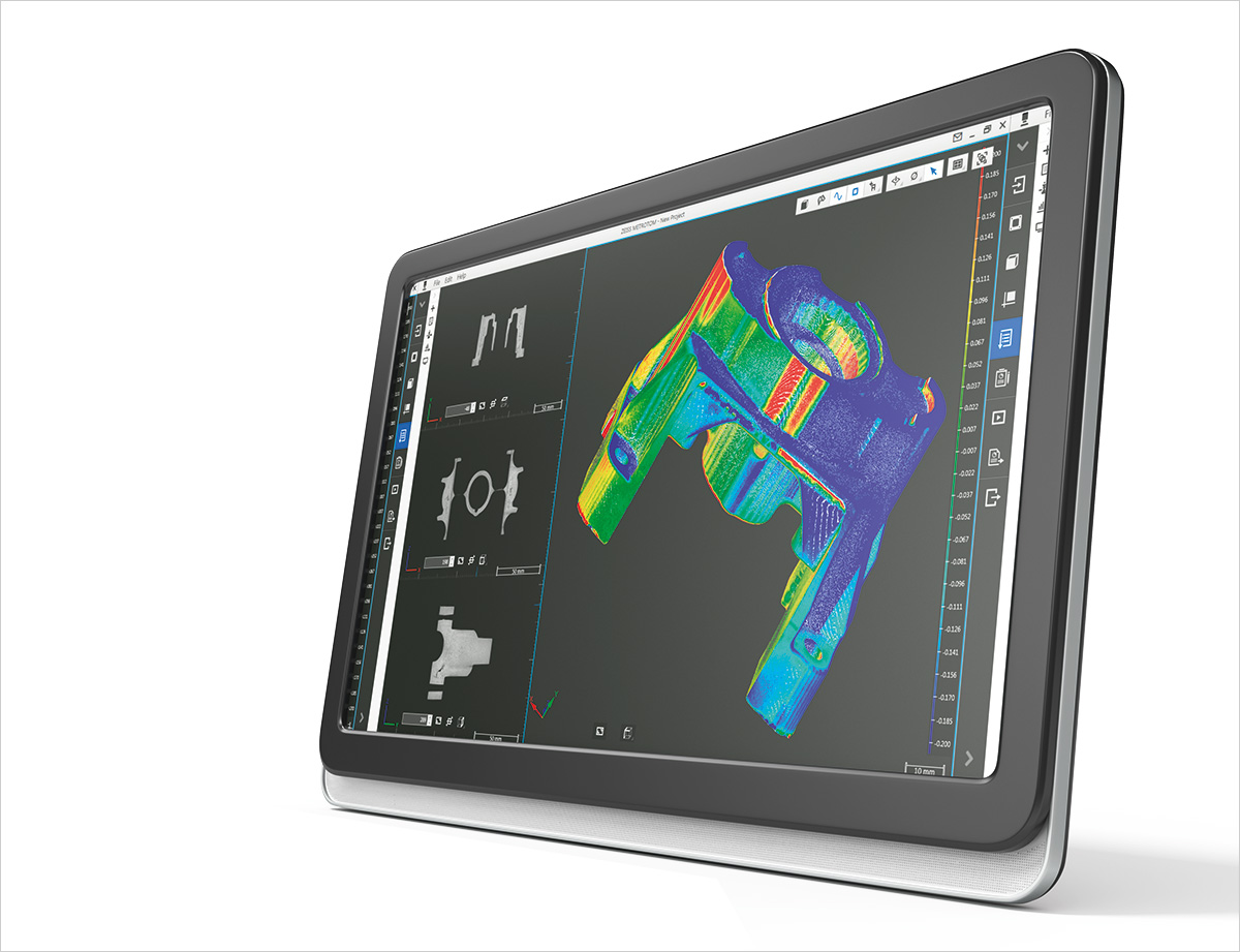 ZEISS CT visualization and evaluation software.